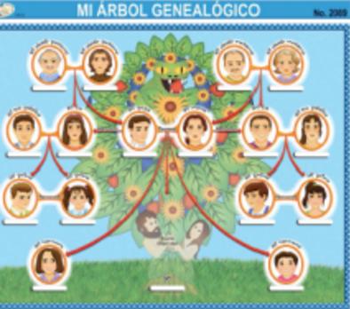 el arbol genealogico venta de material didactico en puebla